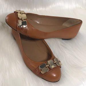 Talbots Women's Flats, Camel Color, Size 5B